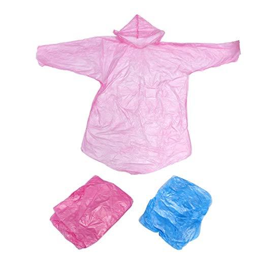 Exceart 30St Wegwerp Beschermende Overall Regenjas Waterdichte Beschermende Pak Regenjas Beveiliging Overall Voor Buiten Werken Willekeurige Kleur