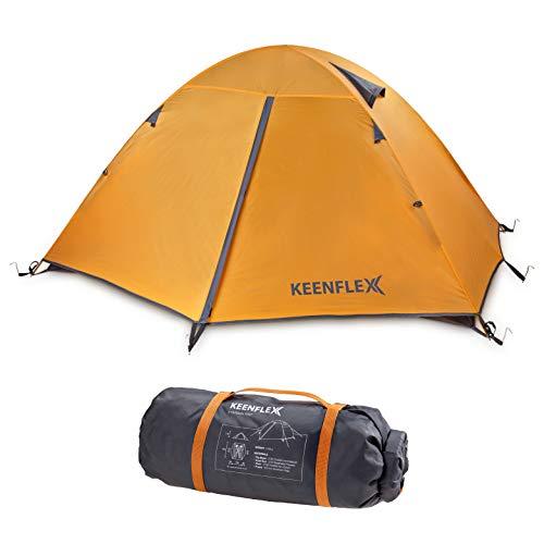 KeenFlex Tienda de campaña para 2 Personas de Doble Capa Ultraligera