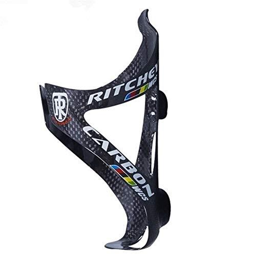 YMYGCC Fahrradflaschenhalter Full Carbon-Faser-Fahrrad-Wasser-Flaschen-Rahmen-MTB Rennrad Flaschenhalter Ultra Light Cycling Bike Zubehör 3K Matt Glanz (Color : Glossy B)