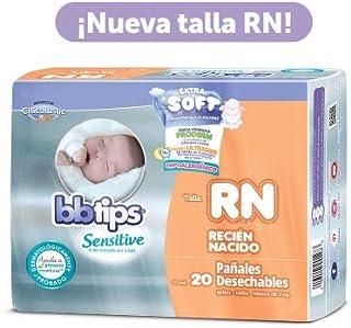 bbtips Talla Recién Nacido Niño- Niña 20 Pañales Desechables