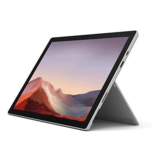 Microsoft Surface Pro 7 12.3in Intel Core i5 10th Gen 8GB RAM 128GB SSD Platinum (Renewed)