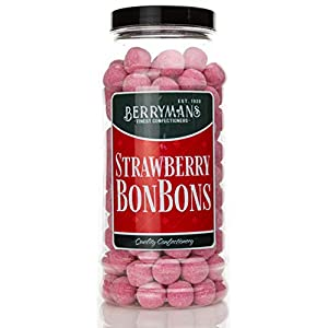 original strawberry bonbons retro sweets gift jar by berrymans sweet shop - classic sweets, traditional taste. Original Strawberry BonBons Retro Sweets Gift Jar by Berrymans Sweet Shop – Classic Sweets, Traditional Taste. 41KahJnVfRL