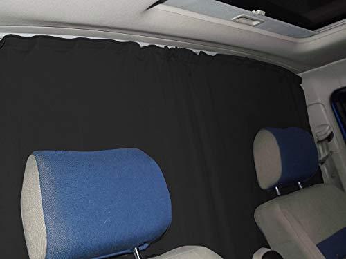 Abtrennung Fahrerhaus Sonnenschutz Führerhaus Gardinen Vorhang kompatiebel mit Ford Tourneo Transit Custom ab 2012-2018 FB:A_SW