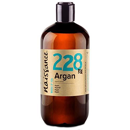 Naissance Huile d'Argan du Maroc (n° 228) - 500ml - 100% pure et naturelle, végane, sans hexane et sans OGM - anti-âge et antioxydante