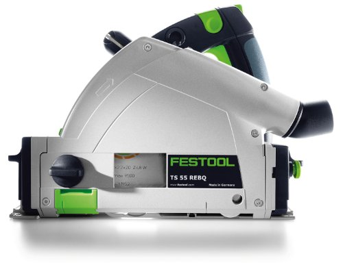 Festool 561554 TS 55 REQ-Plus GB Plunge Cut Circular Saw , 110 V