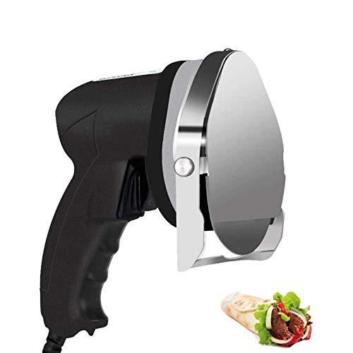 HYDDG Fleischschneidemaschine, elektrisches Kebabmesser Handgrillschneider Fleischbeil Professioneller Edelstahl Kebab Cutter Einstellbare Dicke