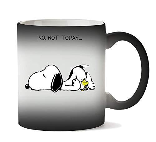 BakoIsland No Not Today Snoopy Dog Tasse Hitze Farbwechsel