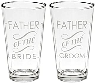 Father Beer Glasses (2, Father of Bride and Groom), Original