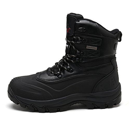 arctiv8 Men's 160443-M Black Insulated Waterproof Construction Hiking Boots Size 12 M US