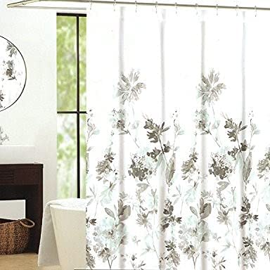 Cynthia Rowley Giacomo Cotton Limited time cheap sale Fashionable Fabric Curtain Floral Botan Shower