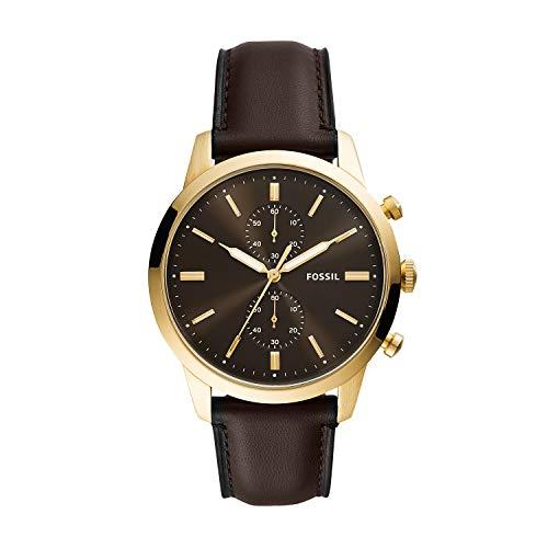 Fossil Men's Townsman Brown Dial Watch - FS5774