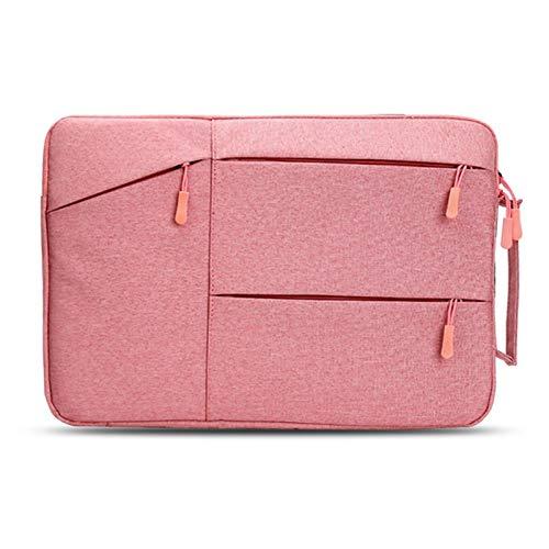 GZA Bolso portátil para iPad MacBook Air Pro Retina 13.3 13 16 15 15.6 Pulgadas de Manga portátil PC para Xiaomi HP DELL Tablet Bag Handbag (Color : Pink, Size : For Macbook 16Inch)