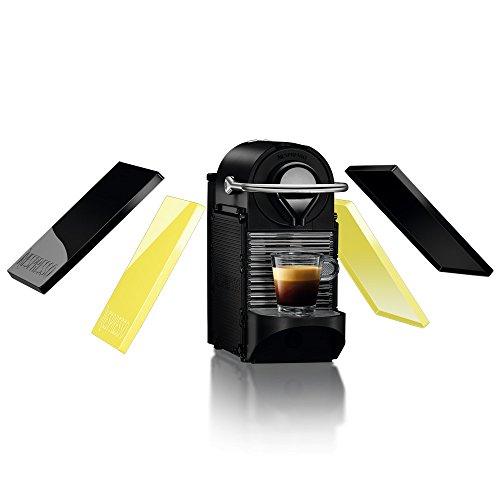 ネスプレッソ コーヒーメーカー ピクシークリップ ブラック&レモンイエロー C60BY