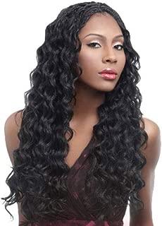 Harlem125 Synthetic Hair Braids Kima Braid Ocean Wave 20 (4-Pack, 1B) by Harlem 125
