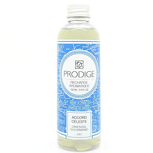 RECHARGE diffuseur de parfum - ACCORD CELESTE (Oriental gourmand)
