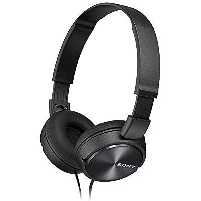 Sony MDRZX310 Foldable Headphones - Metallic Black from Sony