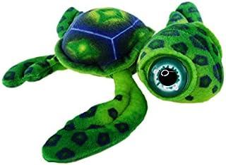 Elka Australia 18006-30GR Turner Turtle Soft Plush Toy, Green, 30 Centimeters