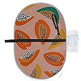 Almohadilla portátil para bebé Papaya plegable a prueba de agua Estilo de corte de pañal Alfombrilla de viaje Colgante conveniente
