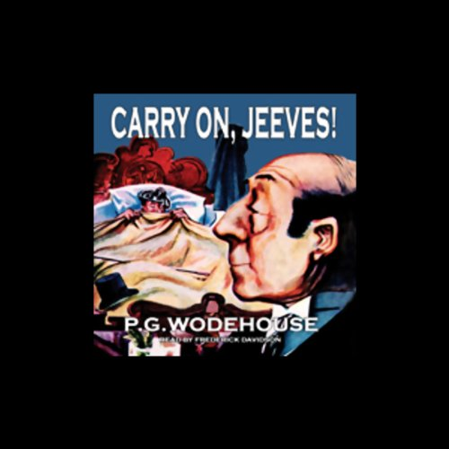 Carry On, Jeeves!  cover art