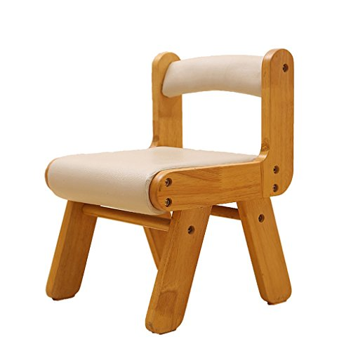 XIAOLVSHANGHANG HHCS Massivholz-Wechsel Schuh-Schemel-Schemel-Test-Schuh-Schemel Runde gepolsterte Schemel-4 Holz-Bein-Schemel-Schemel-Kind, das Stuhl-Sessel lernt Hocker & Stühle (Farbe : #5)