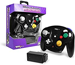 $21 » TTXTech GC Wavedash Wireless Controller Black for Nintendo GameCube with Wii Console