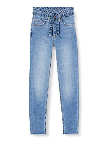 Garcia Kids Mädchen GS020124 Jeans, Blau (Vintage Used 2384), (Herstellergröße: 158)