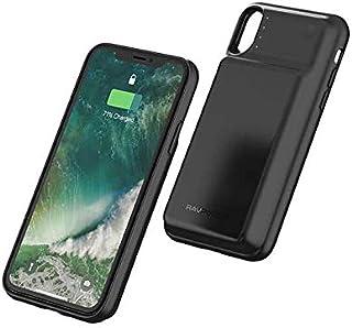 RaVPower Wireless Battery Case 3200mah for iPhone X - Black