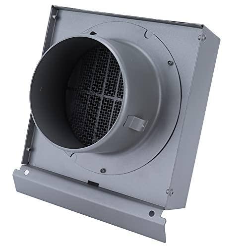 Tampa de ventilação de parede de aço inoxidável Tampa de ventilação de parede de duto de ventilação, exaustor Saída de exaustão de ventilação Capa de faixa de ventilação Ventilador de ar(150mm)