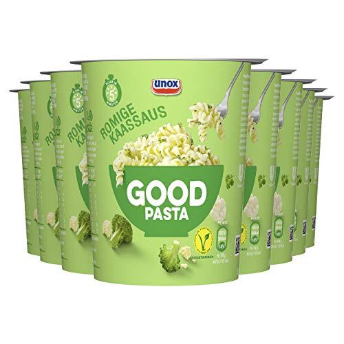 Unox Good Pasta Romige Kaassaus, geschikt voor vegetariers – 8 x 69gram