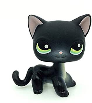 LPS Toy Sparkle Action Figures Kids Toy Gift,Cute Cartoon Pets Cats Kittey Kitty Toy Mini Pet Shop Toys