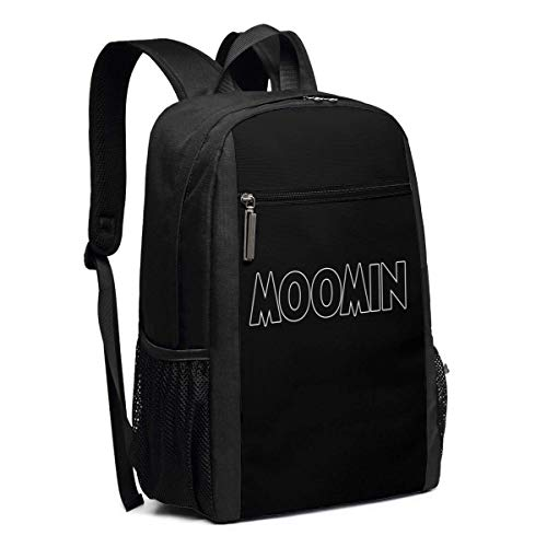 Sac à Dos Scolaire, Travel Hiking Moomin Falls in Love Comic Strip 2 Backpacks Waterproof Big Student College High School Laptop Shoulder Bag Outdoor