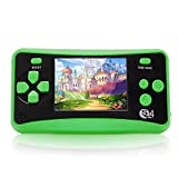 Handheld Games for Kids Adults 2.5'' Color Screen Preloaded 182 Classic Retro Video Games no Need WiFi Seniors Electronic Game Player Birthday Xmas Present for Kids Boys Girls Ages 4-12 -Green