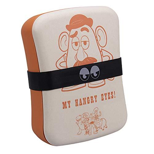 Echte Disney Pixar Toy Story Mr Kartoffelkopf Bambus Brotdose Öko-Vorratsbehälter für Lebensmittel