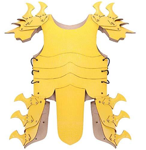 ZTYD Halloween Cosplay Armor Kostuum Carnaval Kinderen Knappe Lederen Draak Armor Party Kostuum Props - One Size