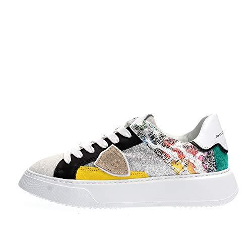 PHILIPPE MODEL PARIS BTLD FP03 Temple Sneakers Femme Multicolor 36