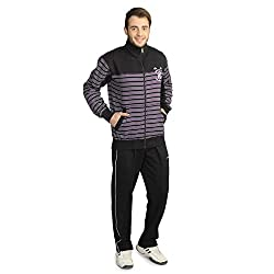 ATHLET Mens Black Tracksuit