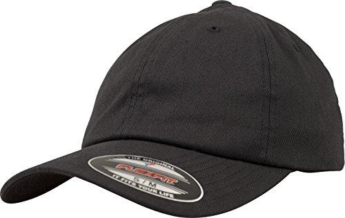 Flexfit (FLEYK) Flexfit Cotton Twill Dad Cap unisex, negro, L/XL (Talla fabricante: L/XL)