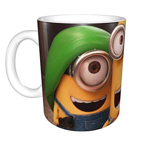 Taza personalizada de Minions, taza de regalo, suministros divertidos de oficina, regalo para mamá, papá, niños o niñas