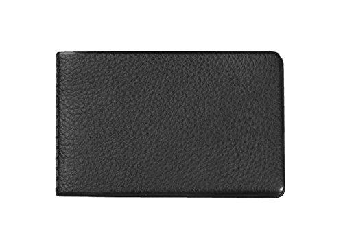 Veloflex 3272800 Document Safe Kartenhülle, Kreditkartenhülle, RFID/NFC-Schutz, für 4 Karten, 100x65mm schwarz