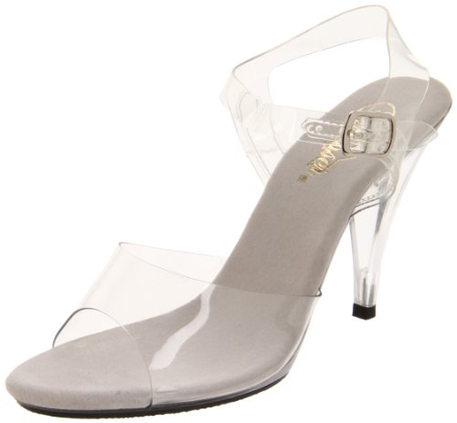 Pleaser CAR408, Damen Pumps, Transparent (clear), 38 EU