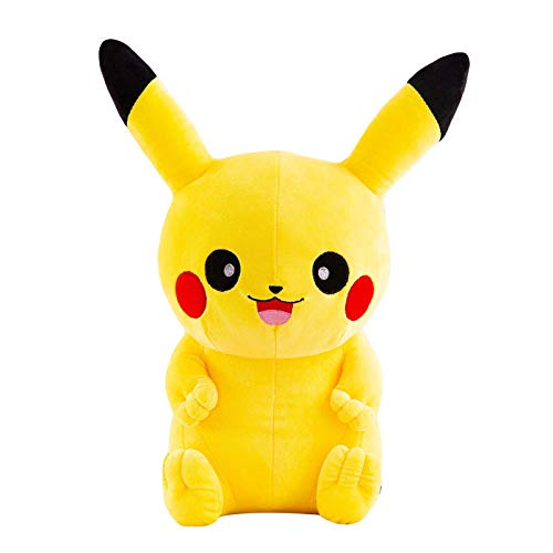 Pluche PokéMon Pikachu Doll Pokemon Soft Knuffel Kussen Groot Ragdoll-Happy Pikachu_60cm