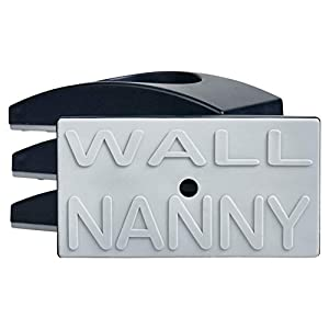 Wall Nanny (4 Pack – Made in USA) Indoor Baby Gate Wall Protector – No Safety on Hazard Bottom Spindles – Small Saver Pad Saves Trim & Paint – Best Dog Pet Childrens Walk Thru Pressure Guard