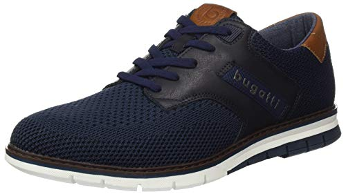 bugatti Herren 311916046900 Sneaker, Blau, 46 EU