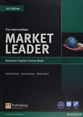 Market Leader 3rd Edition Pre-Intermediate Coursebook & DVD-ROM Pack: Industrial Ecology