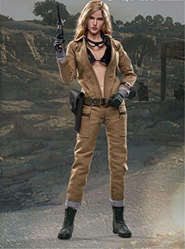 Action Figure Eva Model Toys, 1/6 12 inch Female Soldier Model PVC Modell Puppe Geschenk Für Fotografie, Hobby und Sammlung