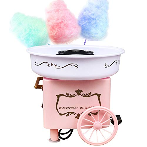 ZGNB Máquina de Algodón de Azúcar Eléctrica Profesional, Cotton Candy Machine, Estilo...