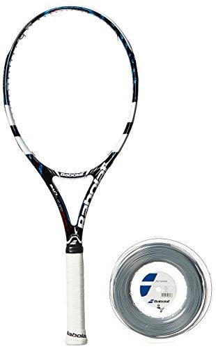 Babolat Erwachsene Tennisschläger Pure Drive Lite GT, Schwarz/Weiß/Blau, L2, 101169