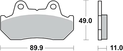 TRW Lucas Bremsbeläge MCB512SV vorne Honda XL 600 V Transalp Ritzel feinverzahnt