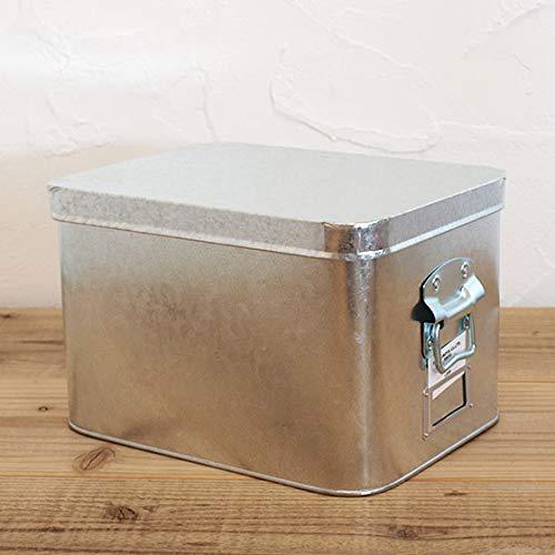 トタン ボックス 無印 無印良品のトタンボックス大は米びつに最適だよ