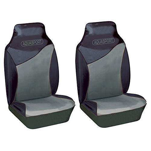 Global Accessorie Paire de housse de siège de protection de siège avant Convient pour un siège équipé avec/sans airbags.